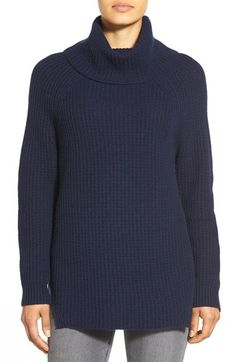 Nordstrom Collection Wool & Cashmere Turtleneck Sweater