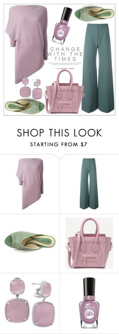 """Untitled #272"" by chanlee-luv ❤ liked on Polyvore featuring Ralph Lauren, Emanuel Ungaro, Effy Jewelry and Sally Hansen"