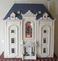 England inspired dollhouse