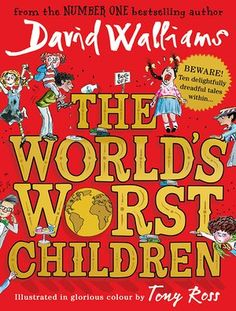 David Walliams announces surprise new children's novel, The World's Worst Children. Book.