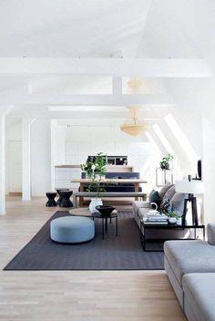 Un Appartement Sous Les Toits En Norvège (PLANETE DECO A Homes World)