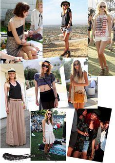 Rhianna, Alexa Chung, and Nicole Kidman just to name a few celebrities sited at Coachella.