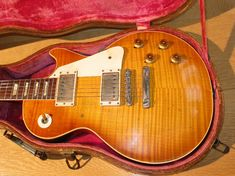 """1959 Gibson Les Paul Standard  """"I need a little more love from a little Les Paul . . . I don't care if it's all beat up . . . Daddy, buy me a Gibson."""""""