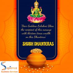 May this Dhanteras 2020 endow you with opulence and prosperity…Happy Dhanteras 2020! #dhanteras #diwali #festival #india #festivals #HappyDhanteras #dhanteraswishes #dhanterasspecial #dhanteraspuja #laxmipujan Shubh Dhanteras, Happy Dhanteras, Diwali Festival, Website Design Company, Software Development, Festivals, Digital Marketing, India, Messages