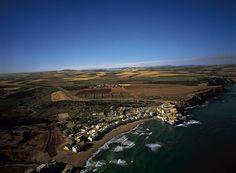 YannArthusBertrand2.org - Fond d écran gratuit à télécharger || Download free wallpaper - Cap El-Melah et sa plage à l'ouest d'Oran, Algérie.