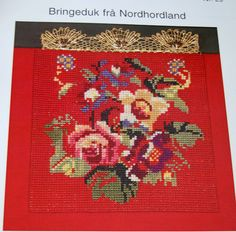 Bringeduk - Google-søk Folk Costume, Costumes, Scandinavian Embroidery, Folk Embroidery, Textile Art, Norway, Stitches, Belts, Diy And Crafts