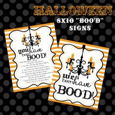 Halloween You've Been Boo'd Sign