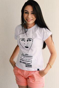 Camiseta Baby Look Pagu