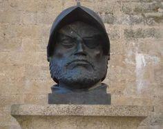 Busto de Francisco de Orellana en su ciudad natal, Trujillo.