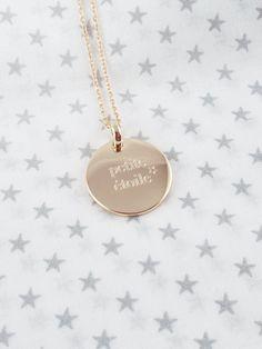 Médaille bombée Petite étoile par Delphine Pariente