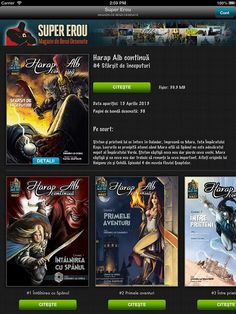 Comic book fans can now read Harap Alb continuă online using the Super Erou iOS & Android app Android Apps, Ios, Comic Books, Comics, Reading, Journals, Reading Books, Cartoons, Cartoons
