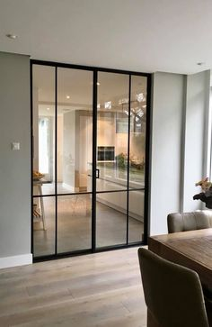 69 best house interior design to transfrom your house 66 ~ Indoor Doors, Internal Doors, Home Living Room, Home Interior Design, New Homes, Room Decor, House Styles, Pink Nail, Nail Nail