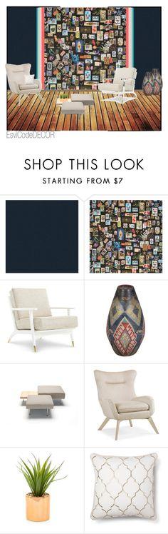 """Cards"" by silvia-esvicode on Polyvore featuring interior, interiors, interior design, Casa, home decor, interior decorating, Versace, Designers Guild, bedroom e rustic"