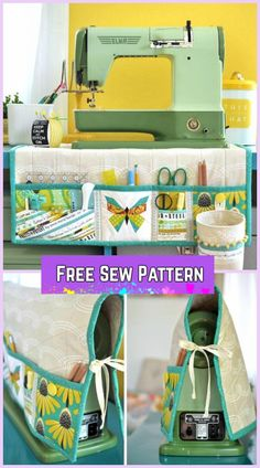 This padded sewing machine mat has pockets and a removable thread catcher. Then … This padded sewing machine mat has pockets and a removable thread catcher. Then it also doubles up as a sewing machine cover too! Sewing Hacks, Sewing Tutorials, Sewing Crafts, Sewing Tips, Sewing Ideas, Dress Tutorials, Sewing Basics, Makeup Tutorials, Makeup Ideas