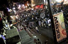 Austin Texas, SXSW music festival