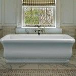 Great tub!  MTI's Parisian tub can be ordered with chromatherapy, air bath, and Radiance heating system