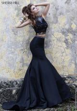Sherri Hill Two Piece Taffeta Dress 32054