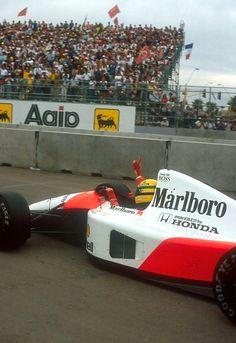 Ayrton Senna McLaren - Honda Phoenix 1991