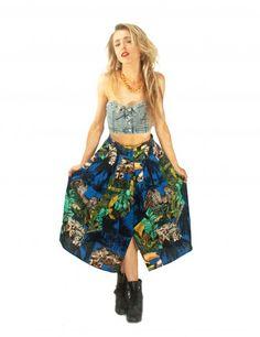Safari Skirt | BimboFlamingo | Runway Republic