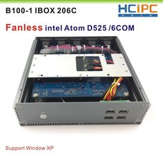 HCiPC B100-1 IBOX 206C(D525) Fanless industrial PC, industrial computer,Mini BOX PC, ATOM D525 with 6COM R232  Price: 160.99 & FREE Shipping #computers #shopping #electronics #home #garden #LED #mobiles #rc #security #toys #bargain #coolstuff |#headphones #bluetooth #gifts #xmas #happybirthday #fun Nintendo Consoles, Mobiles, Computers, Bluetooth, Headphones, Happy Birthday, Xmas, Industrial, Free Shipping