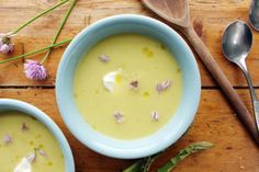 leek, cauliflower and asparagus soup - Belleau Kitchen