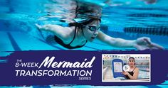 Fin Fun's mermaid workout series is designed to help you swim with confidence and transform your body into a stronger mermaid version of itself!