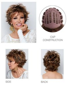 View Of All Images For Voltage Large by Raquel Welch Shaggy Short Hair, Short Shag Hairstyles, Short Hair With Layers, Short Hair Cuts For Women, Raquel Welch Wigs, Mi Long, Hair Dos, Curly Hair Styles, Hair Beauty