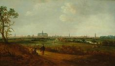 Reyer Claesz Suycker, View of Haarlem, ca. 1640. Frans Hals Museum #franshalsmuseum #haarlem #art