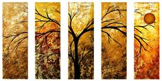 """Dreams of Gold"" ~ Megan Aroon Duncanson (MADART)"