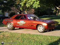 The badass 69 Funny Car Drag Racing, Funny Cars, Lightning Aircraft, Old Hot Rods, Old Race Cars, Race Engines, Vintage Race Car, Camaro Ss, Drag Cars