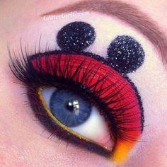Maquillaje mickey
