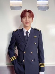 Woozi, Wonwoo, Jeonghan, Id Photo, Solo Photo, Pilot Uniform, Seventeen Album, Seventeen The8, Seventeen Memes