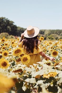 Sunshine and sunflowers – so simple, yet … – girl photoshoot Sunflower Field Pictures, Pictures With Sunflowers, Sunflowers Tumblr, Sunflower Pics, Sunflower Field Photography, Shotting Photo, Sunflower Wallpaper, Sunflower Fields, Field Of Sunflowers