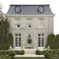 I came across a few clients in the San Jose area who wish for a French style home. What is it that makes that je ne sais quoi French? This post is my own list of aspects of a French home, exterior …