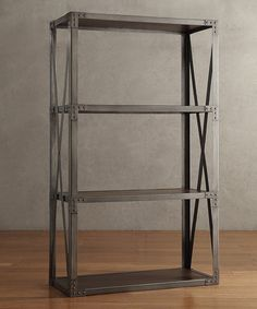 Another great find on #zulily! Brown Taylor Wider Bookcase #zulilyfinds