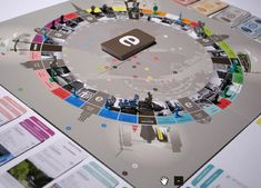 """""""Hello Monday has designed Copenhagen's new board game that draws inspiration from classics like Monopoly and Besserwisser. Authenticity is a key concept in the design and brings together historic and... Read more"""