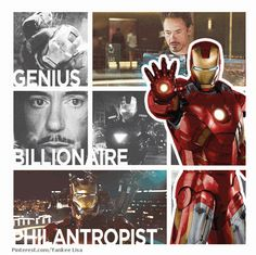 Marvel: The Avengers - Iron Man - Robert Downey Jr.: Not the best guy, but he's REALLY FUNNY!!