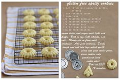 keep it simple, keep it fresh: our home: gluten free spritz cookies!