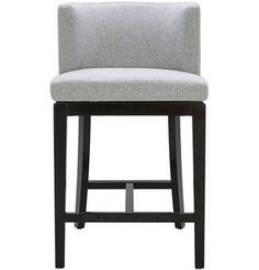 Sunpan Modern Hayden Bar Stool with Cushion Upholstery: Marble Counter Height Bar Stools, 24 Bar Stools, Swivel Bar Stools, Bar Chairs, Kitchen Stools, Dining Chairs, Ikea Chairs, Bar Counter, Room Chairs