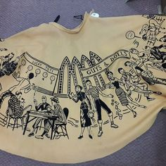 """To see this fabulous felt novelty """"Guys and Dolls original circle skirt!, and than told it's not for sale!, i was like nooo! 50s Vintage, Vintage Love, Vintage Style, Retro Outfits, Vintage Outfits, Vintage Clothing, Fifties Fashion, Vintage Fashion, Dapper Day Outfits"""
