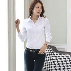30643e709976f7 17322 best Women in shirts images in 2019 | Shirts, Woman fashion ...