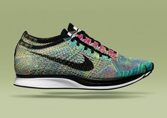 Nike hasn't been shy with its Flyknit releases thus far, releasing the Flyknit Trainer  and the Lunar Flyknit One  in a wide array of colors that would leave one hard-pressed to be disappointed, but the Flyknit Racer has been kept … Continue reading →