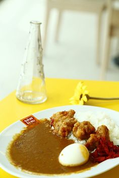 Curry Rice with Karage Chicken
