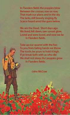 ¤ Poet Ponderings ¤ poetry, quotes haiku - John McCrae | In Flanders Fields Remembrance Day Poems, Remembrance Poppy, Flanders Field, Flanders Poppy, Soldier Poem, American Legion Auxiliary, Poem Analysis, Armistice Day, Lest We Forget
