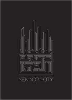 It looks like a game. I like the shape of buildings of labyrinth.