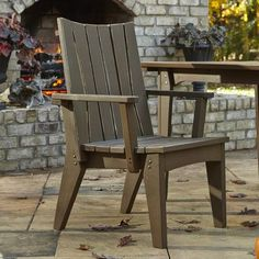 Uwharrie Hourglass Dining Arm Chair Finish: New England Red Wash