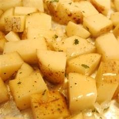 These red roasted potatoes melt in your mouth. . . Click for recipe