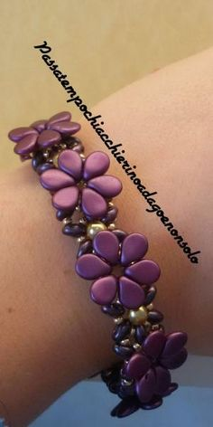 Flower Bracelet (English subs) #Seed 3Bead #Tutorials by catalina