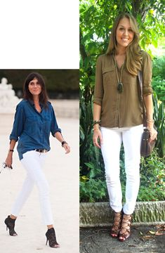 Today's Everyday Fashion: Olive Tones