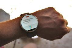 Motorola Moto 360 Android Wear Smartwatch Review and Giveaway
